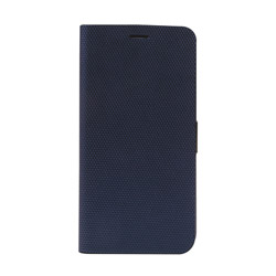 iPhone XS Max 6.5インチ用 Metallic Diary ネイビー Z14241I65