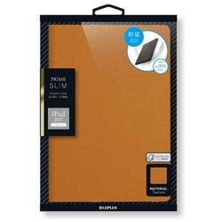 iPad 9.7インチ用 PRIME SLIM フラップケース キャメル LEPLUS LP-IPP9LSCA