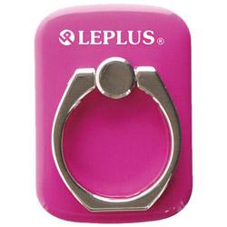 〔スマホリング〕 スマートフォン汎用 スマートフォンリング Grip Ring/PALLET LEPLUS LP-SMRG04HPK ホットピンク
