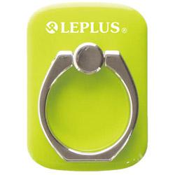 〔スマホリング〕 スマートフォン汎用 スマートフォンリング Grip Ring/PALLET LEPLUS LP-SMRG04GR グリーン