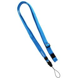 〔ネックストラップ〕 スマートフォン汎用 多機能ネックストラップ PALLET LEPLUS LP-NS06BL ブルー
