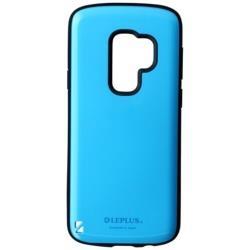 Galaxy S9+用 耐衝撃ハイブリッドケース「PALLET」 LEPLUS LP-GS9PHVCSBL スカイブルー