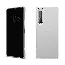 SONY(ソニー) Xperia 1 II Style Cover View グレー XQZ-CVAT/HJPCX