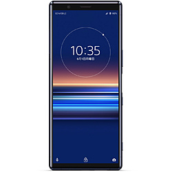 SONY(ソニー) 【SIMフリー】 ソニー Xperia5   防水・防塵・おサイフケータイ Snapdragon 855 6.1型・メモリ/ストレージ:6GB/128GB nanoSIM x2 ドコモ / au / ソフトバンクSIM対応 SIMフリースマートフォン Xperia ブルー