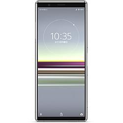 SONY(ソニー) 【SIMフリー】 ソニー Xperia5   防水・防塵・おサイフケータイ Snapdragon 855 6.1型・メモリ/ストレージ:6GB/128GB nanoSIM x2 ドコモ / au / ソフトバンクSIM対応 SIMフリースマートフォン Xperia グレー