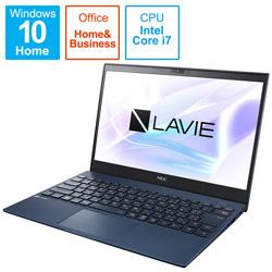 ノートパソコン LAVIE ProMobile(LTE) ネイビーブルー PC-PM950BAL [13.3型 /intel Core i7 /SSD:512GB /メモリ:16GB /2021月1月モデル]