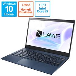 ノートパソコン LAVIE ProMobile ネイビーブルー PC-PM550BAL [13.3型 /intel Core i5 /SSD:512GB /メモリ:8GB /2021年1月]