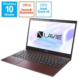 ノートパソコン LAVIE ProMobile クラシックボルドー PC-PM550BAR [13.3型 /intel Core i5 /SSD:512GB /メモリ:8GB /2021年1月]