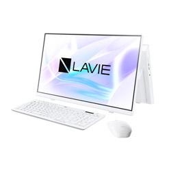 PC-A2365BAW デスクトップパソコン LAVIE A23シリーズ ファインホワイト [23.8型 /SSD:512GB /メモリ:8GB /2021年1月モデル]