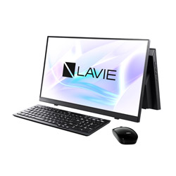 PC-A2335BAB デスクトップパソコン LAVIE A23シリーズ ファインブラック [23.8型 /SSD:512GB /メモリ:8GB /2021年1月モデル]