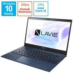ノートパソコン LAVIE ProMobile ネイビーブルー PC-PM550BZL-2 [13.3型 /intel Core i5 /SSD:512GB /メモリ:8GB /2021年1月モデル]