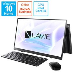 PC-A2355BZB-2 デスクトップパソコン LAVIE A23シリーズ ファインブラック [23.8型 /SSD:512GB /メモリ:8GB /2021年1月モデル]