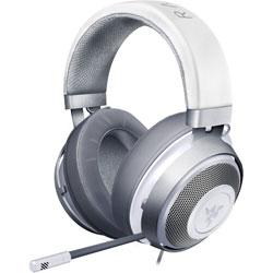 RAZER(レイザー) RZ04-02830400-R3M1 ゲーミングヘッドセット Kraken Mercury White [φ3.5mmミニプラグ /両耳 /ヘッドバンドタイプ]