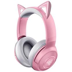 RAZER(レイザー) RZ04-03520100-R3M1 ゲーミングヘッドセット Kraken BT Kitty Edition クォーツピンク [ワイヤレス(Bluetooth) /両耳 /ヘッドバンドタイプ]