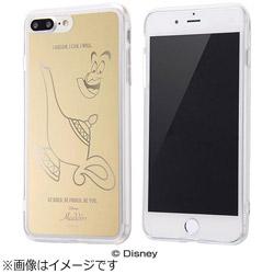 iPhone 7 Plus用 ハイブリッドケース ミラーデザイン ディズニー ジーニー ゴールド IN-DP7PUM/GN