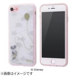 iPhone 7用 TPUソフトケース メタルドローイング ディズニー ミッキーマウス IN-DP7HM/MK