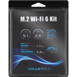 M.2 WiFi 6 kit (AX200) for DeskMini (BOX)