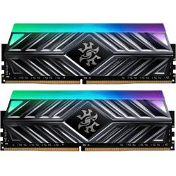 ADATA(エイデータ) XPG SPECTRIX D41 Titanium Gray AX4U320038G16-DT41 (DDR4-3200/8GBx2)