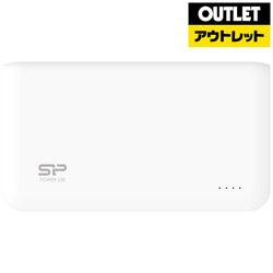 Silicon Power(シリコンパワー) 【アウトレット】 SP5K0MAPBKS50P0WJE モバイルバッテリー ホワイト [5000mAh /2ポート /充電タイプ]
