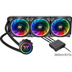 Thermaltake(サーマルテイク) Floe Riing RGB 360 TT Premium Edition CL-W158-PL12SW-A (水冷一体型CPUクーラー)