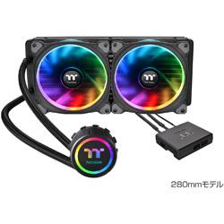 Thermaltake(サーマルテイク) Floe Riing RGB 280 TT Premium Edition CL-W167-PL14SW-A (水冷一体型CPUクーラー)