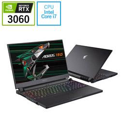 AORUS15GKC-8JP2130SH ゲーミングノートパソコン AORUS 15G  [15.6型 /intel Core i7 /SSD:512GB /メモリ:16GB /2021年春モデル]