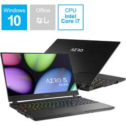 KB-8JP5130SP ゲーミングノートパソコン AERO 15 OLED(4K有機EL)  [15.6型 /intel Core i7 /SSD:512GB /メモリ:16GB /2020年4月モデル]