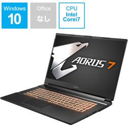 AORUS7KB-7JP1130SH ゲーミングノートパソコン AORUS 7  [17.3型 /intel Core i7 /SSD:512GB /メモリ:16GB /2020年7月モデル]