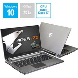 YB-8JP6150MH ゲーミングノートパソコン AORUS 17G  [17.3型 /intel Core i7 /SSD:1TB /メモリ:16GB /2020年10月モデル]