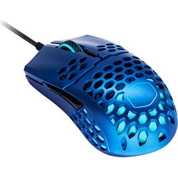ゲーミングマウス MasterMouse MM711 Metallic Blue Edition MM-711-MBOL1 [光学式 /7ボタン /USB /有線]