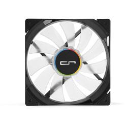 ケースファン[120mm / 1600RPM] QF120 BALANCE LED WHITE ホワイト