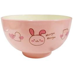 子供汁椀 もぐもぐ うさぎ KD202-PK ピンク