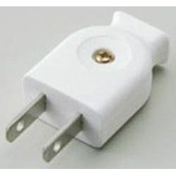 平形プラグ A22H-W ホワイト