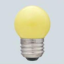 カラー寸丸球 G-13H(Y) イエロー [E26 /黄色]