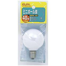 電球 ミニボール球 G-83H-W [E17 /白色 /ボール電球形]