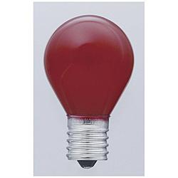 電球 カラーS型ミニ球 G-20H-R [E17 /赤色 /一般電球形]
