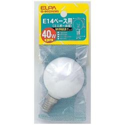 E14ミニボール 40WG-802H(W)