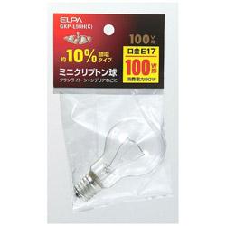 10%節電ミニクリプトン球(100W形・口金E17・100Vタイプ) GKP-L90H(C)