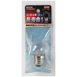 ミニボール球 G40 5W E26 C ロングG-L8003H(C)