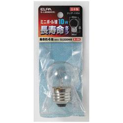 ミニボール球 G40 10W E26 C ロングG-L8006H(C)