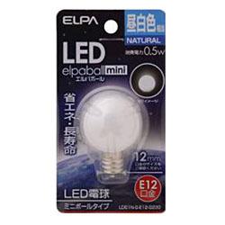 LED電球 「ミニボールG30形」(昼白色・口金E12) LDG1N-G-E12-G230