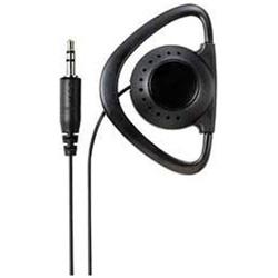 RE-STM03 ブラック<3.0mコード> テレビ用片耳イヤホン 耳かけ型