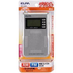 AM/FM液晶コンパクトラジオ ER−C68FL