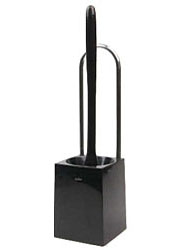 カスケット トイレブラシケース付 TN201-BK ブラック
