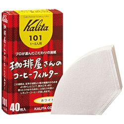 珈琲屋さんのコーヒーフィルター101 ホワイト 40枚入