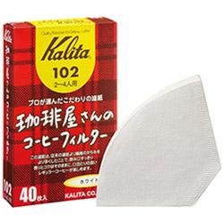 珈琲屋さんのコーヒーフィルター102 ホワイト 40枚入