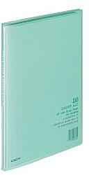 クリヤーブック 「キャリーオール(固定式)」(A4判・20P/緑) ラ-1G