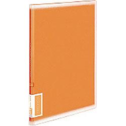 クリヤーブック(A4サイズ・固定式/縦10枚ポケット・オレンジ) ラ-V10YR