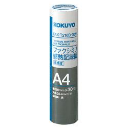 FAX-T210B-30N FAXロール紙 ファクシミリ [A4 /30m]