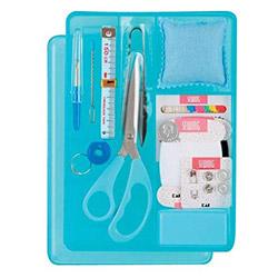 裁縫箱セット ブルー 000KM3033